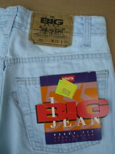 Levi's 555 Student Short Mens Size 28 Blue New Made in U.S.A.