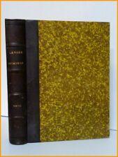 Édouard Charton leTour du Monde année 1900 reliée journall des voyages voyageurs