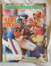 1986 Sport Illustrated Mark Bavaro New York Giants vg