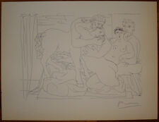 Pablo Picasso AFTER/COPY lithograph Vollard Suite