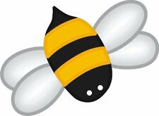 Bee Bumble Bee Sticker Decal Graphic Vinyl Label V3