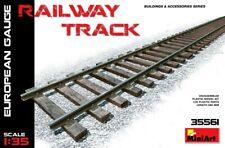 Miniart 35561 Railway Track ( European Gauge ) Scale Plastic Model Kit 1/35