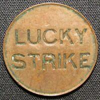 Lucky Strike US Copper Token 19 mm & 2.5 grams