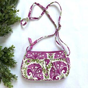 Vera Bradley Bag In Julep Tulip Pink Purse Floral Handbag CrossBody Retired