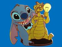 Disney Pin WDW Imagination Gala Pin Board Exclusive - Stitch & Figment