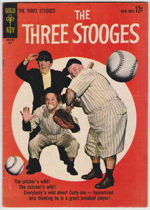 Three Stooges #13 (Jul 1963) 5.0 VG/FN Gold Key Photo Cover Comic