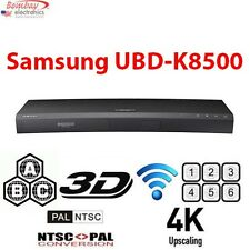 Samsung UBD-K8500 Curved Region Free Blu-Ray DVD Player - 4K Ultra HD