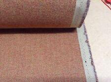 Mulberry Flynn Herringbone Tweed Spice Rust Wool Type Upholstery/Curtain Fabric