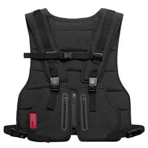 Men Women Tactical Chest Bag Fashion Hip Hop Vest Streetwear Chest Rig Bag