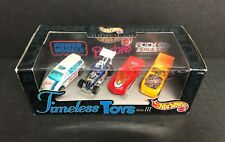 Timeless Toys Series 3 HOT WHEELS Special Edition 4-car set with Barbie Van