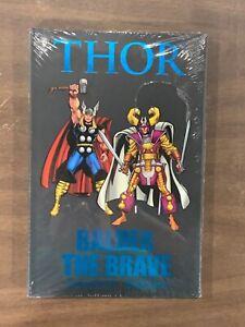 THOR, BALDER THE BRAVE, Marvel Comics, Hard Cover SEALED (CC2)