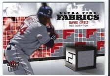 David Ortiz 2006 Fleer Ultra Fine Fabrics Game-Used/Relic Boston Red Sox #FM-DO