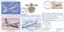 75th ann RAF ascensione è FDC VC10 NIMROD volati COVER