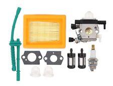 Carburetor Air Fuel Filter Hose for Stihl MM55 MM55C Tiller Cultivator Carb