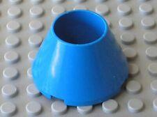 LEGO Blue Cone Hollow No Studs ref 4742 / set 4565 6494 6496 6497 6682 10177...