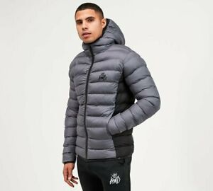 KINGS WILL DREAM - ABOR PUFFER JACKET (Grey) Mens