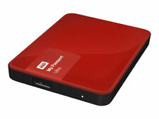WD My Passport Ultra 1TB USB 3.0 Portable Hard Drive Red
