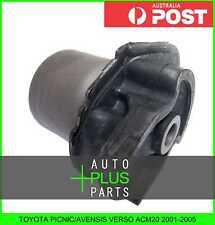 Fits TOYOTA PICNIC/AVENSIS VERSO ACM20 - Rubber Suspension Bush Rear Arm