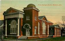 Arkansas, AR, Malvern, First Baptist Church Early Postcard