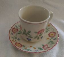Churchill Briar Rose China Pattern Cup and Saucer