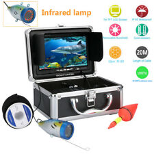 "20M IR 7"" Underwater 1000TVL Under water Lake Fishing fish finder Camera Monitor"