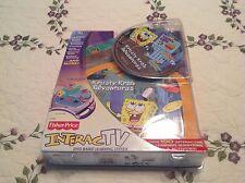 Fisher Price SpongeBob Squarepants Krusty Krab Adventures InteracTV DVD