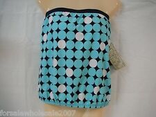 Beach House Size 8  New Swimwear Bathing Suit Top Blue Dots