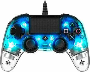 PS4-Nacon Wired Compact Controller Light Blue PS4