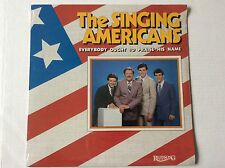 THE SINGING AMERICANS Everybody Ought to Praise His Name 1983 LP SEALED + bonus