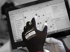 Polyco 452 matrice Touch 1 Palm-côté enduit noir/blanc Gants-Taille 8