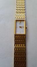 SEIKO Ladies Watch-Dress watch-Gold Tone- 2E20 -Made in Japan
