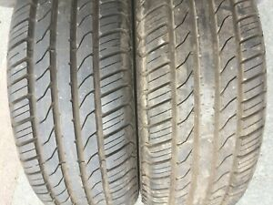 2 x 185 55 14 TYRES 7MM TREAD 185/55 R14 79H