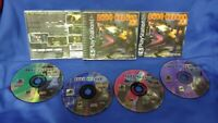 Fear Effect I 1 Playstation 1 2 PS1 PS2 Rare Game Excellent all 4 Discs Complete