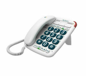 BT Big Button 200 Corded Phone with Handsfree Speaker NEW UK