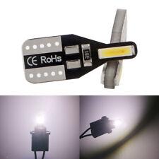 100X White T10 W5W 7014 LED 2SMD Canbus Error Free Wedge Interior Light Bulb 12V