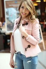 Zara Patternless Blazer Wool Blend Coats & Jackets for Women