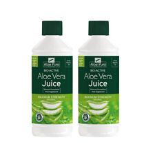 Aloe Pura Aloe Vera Juice fuerza máxima - 2 X 1000ml Paquete Doble