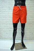 Costume CALVIN KLEIN Uomo Taglia 60 Kostüm Con Rete Swimsuit Short Mare Piscina