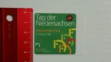 ADESIVI/Sticker: TOTO LOTTO-Giorno della Bassa Sassonia-Wolfenbüttel (080416105)