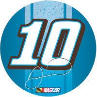"NASCAR #10 Danica Patrick 3"" Round Racing Stripe Magnet-New for 2016!"