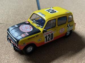 SCX Renault 4 Dakar Rally version. Good Condition, seems to be a very rare car.