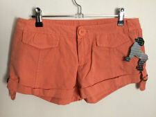 One Teaspoon Cotton Machine Washable Regular Size Shorts for Women
