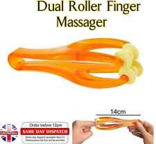 Dual Rollers Rolling Finger Joints Massage Hand Massager for Keyboard User  MW