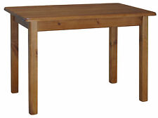 kleiner Esstisch / Küchentisch und Stuhl Kiefer massiv lackiert