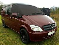 Mercedes Benz Vito 639 Cab Blinds, Windscreen Curtain, Cab Sunshade, Van Drapes.