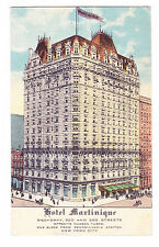 Hotel Martinique Ad Postcard, W. 32Nd St. & B'Way, 1898 By Henry Hardenbergh, Ny