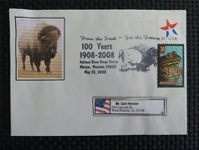 Estados unidos Bison bisontes bisonte europeo wisente Buffalo self made cover c4748