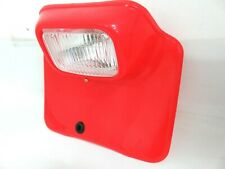Flash Red Honda XR 185 200 250 500 XR185 XR200 XR250 XR500 Headlight