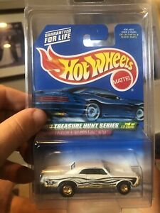 2000 Treasure Hunt Pontiac GTO Hot Wheels Real Riders Limited Edition Super Hot