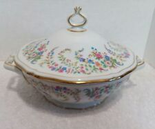Rosenthal Chippendale Eleanor White Covered Vegerable Dish #2567 U.S.Zone Ger